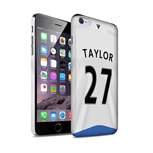 Offiziell Newcastle United FC Hülle / Matte Snap-On Case für Apple iPhone 6S+/Plus / Pack 29pcs Muster / NUFC Trikot Home 15/16 Kollektion Taylor