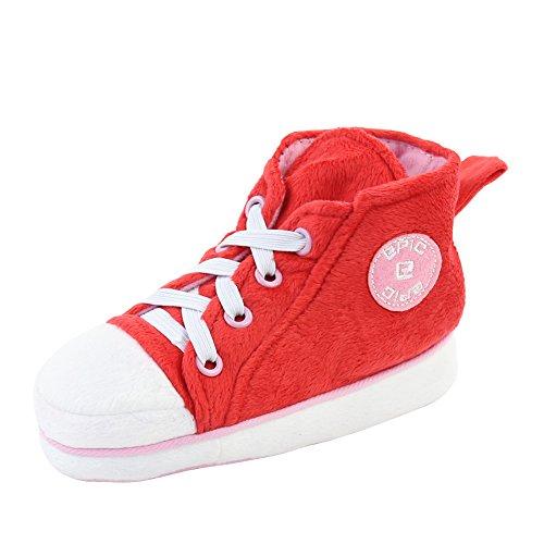 Gohom ,  Herren Chelsea Boots Red&Pink