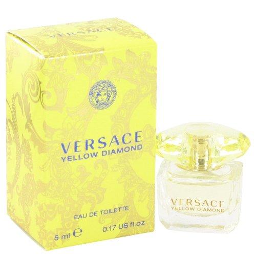 Parfüm Eau De Parfum Miniatur (Versace Yellow Diamond Eau de Toilette 5ml Miniatur/mini Parfüm)