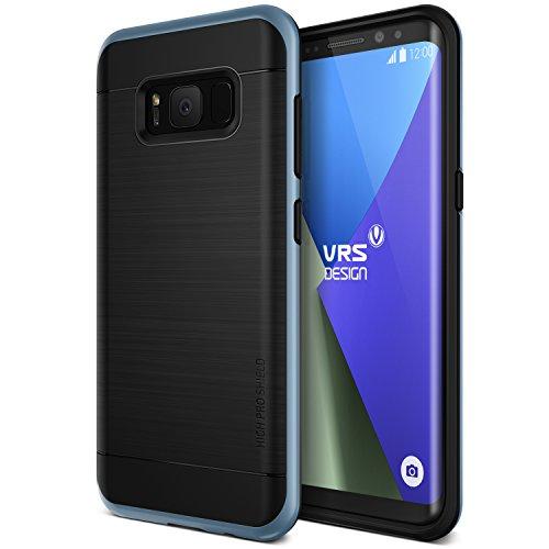 Galaxy S8 Plus Hülle, VRS Design® Schutzhülle [Blau] Schlagfesten Stoßstangen TPU Bumper Case Kratzfeste Schlanke Handyhülle [High Pro Shield] für Samsung Galaxy S8 Plus 2017
