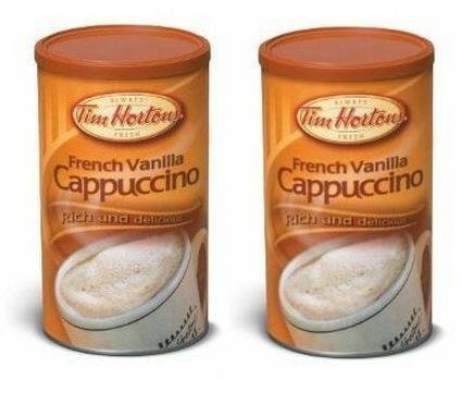 tim-hortons-french-vanilla-cappuccino-beverage-mix-two-16oz-cans-imported-from-canada-by-tim-hortons