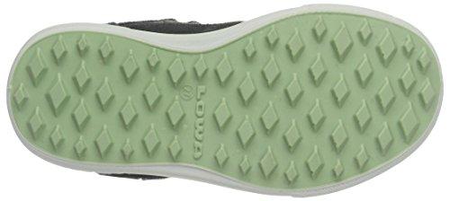 Lowa Mika Ii Gtx, Chaussures de Randonnée Basses Mixte Enfant Gris (anthrazit/limone)
