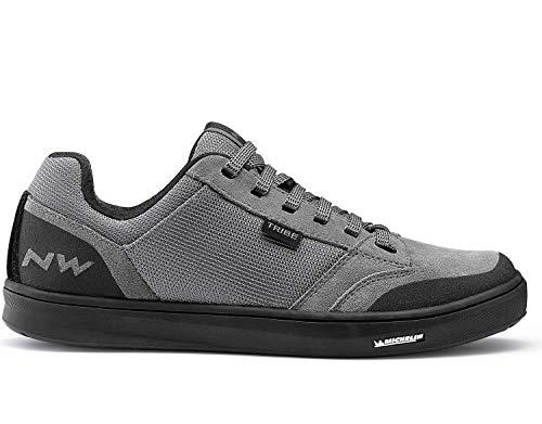 Northwave Tribe MTB Dirt Fahrrad Schuhe grau/schwarz 2020: Größe: 40