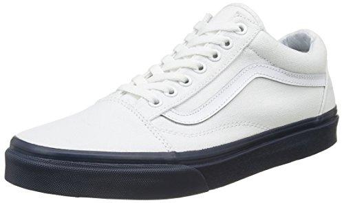 Vans Old Skool, Sneakers Basses Mixte Adulte Bleu (mlx)