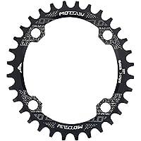 Plato de Bicicleta, Platos Ovales de Una Sola Velocidad 32T / 34T / 38T para Bicicleta BCD 104mm(32T)