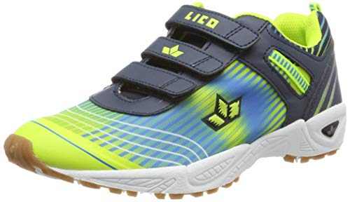 Lico Unisex-Erwachsene Barney V Multisport Indoor Schuhe, Marine/Blau/Lemon, 40 EU