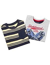 Cherokee Boys' Regular Fit T-Shirt (Pack of 2)