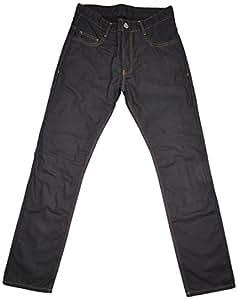 Overlap Jeans de Moto Street+protection de genou,Bleu foncé 33