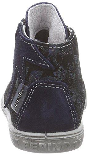 Ricosta Stari, Sneakers Hautes fille Bleu (nautic/kobalt 174)