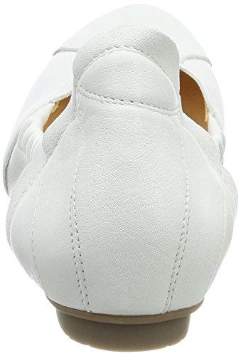 Think! Damen Balla_282161 Geschlossene Ballerinas Weiß (Bianco 96)
