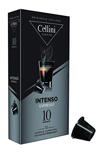 Cellini Espresso Intenso 10 Kapseln, 5er Pack (5 x 50 g)