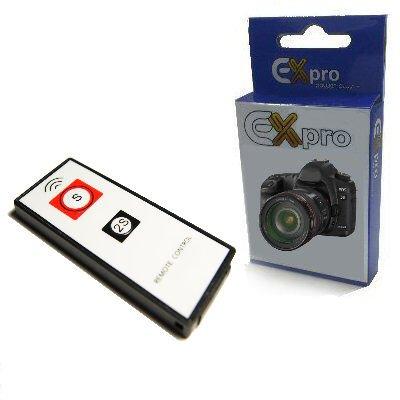 EX-Pro Sony RMT-DSLR1blanco disparador interruptor de mando a distancia inalámbrico (infrarrojos) para Sony Alpha cámaras réflex digitales (consulte la descripción para modelos compatibles)