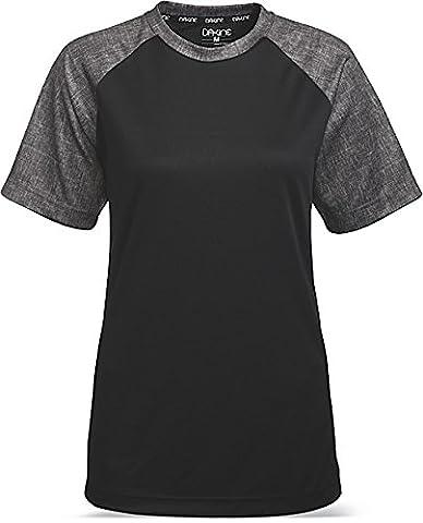 Dakine maillot d'Équipe Womens Xena manches courtes en jersey pour homme L noir
