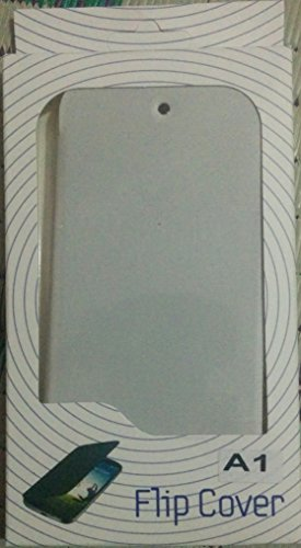 MACC Flip Cover Case For Micromax Canvas A1 with Android One AQ4501 - White