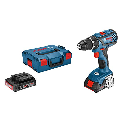 Bosch Professional perceuse-visseuse sans-fil GSR 18V-28 (2 batteries 2,0 Ah,18 V, ∅ de vissage...