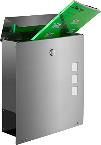 Frabox NAMUR EXKLUSIV Edelstahl Design Briefkasten - 3