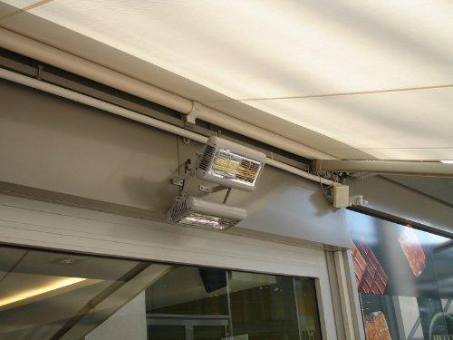 TANSUN Infrarot-Quarzheizstrahler 'Sorrento IP' 2,0 kW, Farbe:Weiss - 6