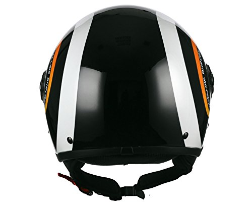 Zoom IMG-2 casco moto bhr demi jet