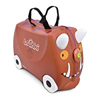 Trunki Gruffalo Waterproof. Playing at Home, Aeekends Away Ride-On Suitcase - Brown