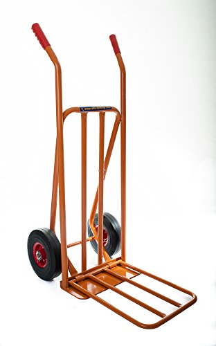 Heavy duty 300 kilograms sack trolley truck barrow with extendable toe. over 5,000 sold in UK. OT1001 Test