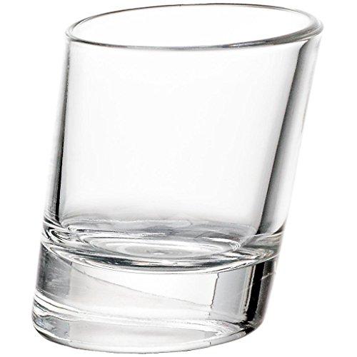 "Schnapsglas, Likörglas, Shotglas ""SAMBA"" 4 cl, Glas im modernem Style (FAN UNIKATE powered by CRISTALICA)"