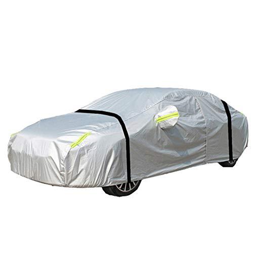 Couverture de voiture Convient pour Couverture matérielle de voiture en tissu Oxford de style d'amélioration d'épaississement de style Toyota Land Cruiser ( Couleur : Silver , taille : Land Cruiser )