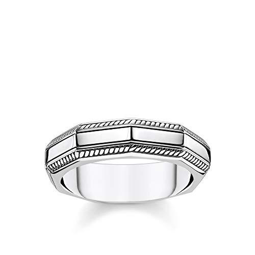 Thomas Sabo Unisex-Ring Eckig silber 925 Sterlingsilber TR2276-637-21-48