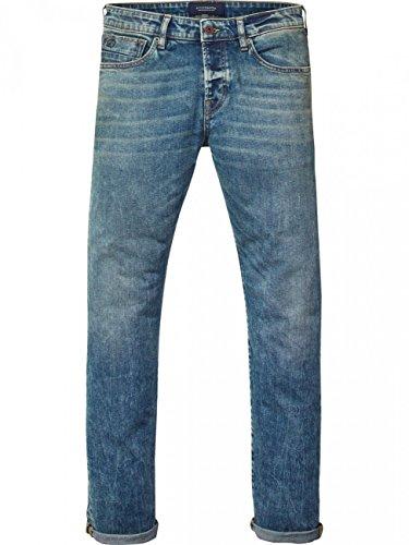 Scotch & Soda Herren Jeans Ralston - Slim Fit - Blau - Blauw Suite Blauw Suite (1357)