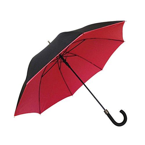SMATI Paraguas Largo Doble-Tejidos Antiviento Doble