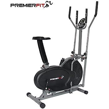 PremierFit CB360 - Bicicleta Elíptica 2 en 1 para Ejercicios, para ...