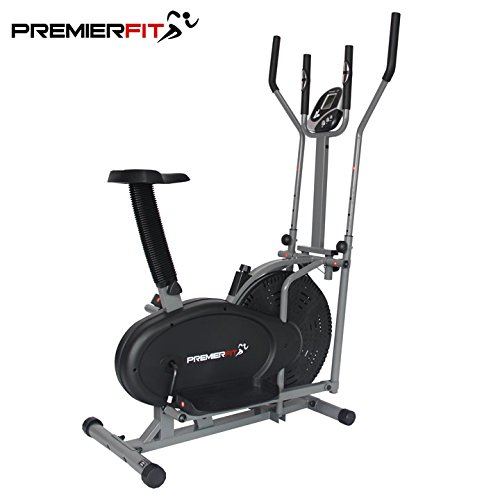 PremierFit CB360 2-in-1 Elliptical Cross Trainer Exercise Bike