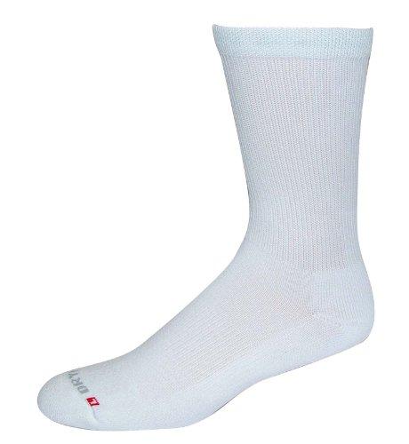 Neuer DryMax Physical Training Crew Socken Small weiß -