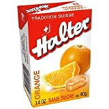 Bonbons Orange sans sucre 40g Halter