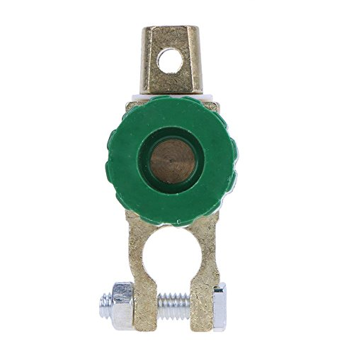 Preisvergleich Produktbild vanpower Universal Akku trennen Trennschalter Cut Off Schalter (grün)