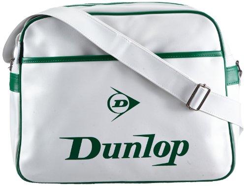 f1a1881c7b90 ... Dunlop Unisex - Adult Classic Manchester Shoulder Bag White Weiß  (white green) Size Dunlop Unisex union jack sports Flight ...