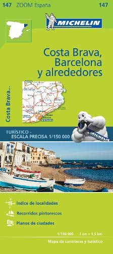 (Michelin Zoom Maps ) :Costa Brava Barcelona y Alrededores (Mapas Zoom Michelin) Zoom Bluetooth
