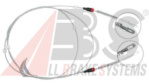 ABS All Brake Systems K11265 -  Cavo Comando, Freno Stazionamento - Cavi Jeep Del Freno Di Stazionamento