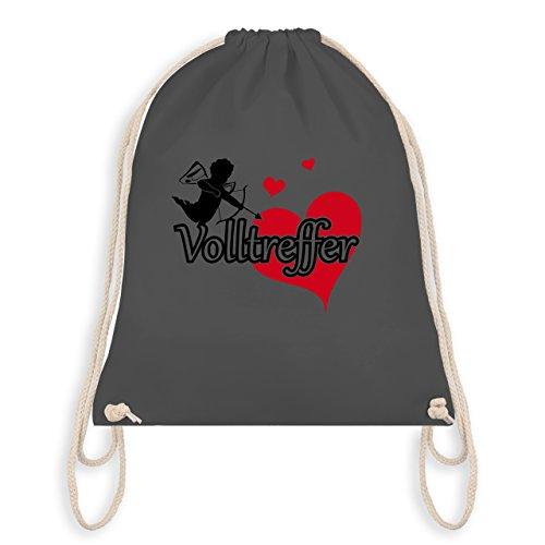 JGA Junggesellinnenabschied - Volltreffer - Turnbeutel I Gym Bag Dunkelgrau