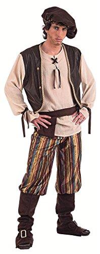 Limit Sport mittelalterlichen Wirt-Kostüm für Erwachsene, Gr. XL (Für Erwachsenen Mittelalter Mann Kostüm)