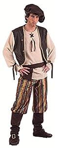 Limit Sport - Disfraz de tabernero medieval para adultos, talla XL (MA856)