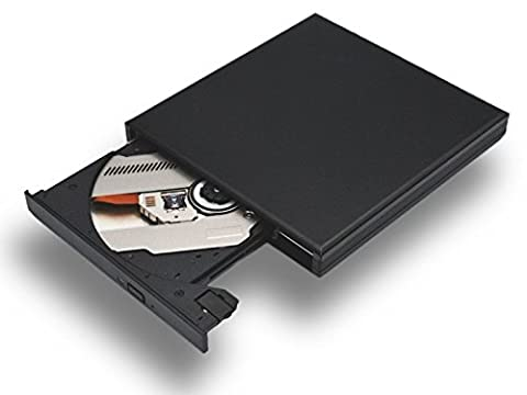 Blu Ray BD Combo Laufwerk DVD Brenner Slim Extern (USB 3.0, schwarz)