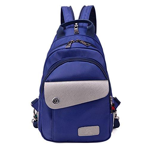 Zaino da viaggio doppia/borsa di stoffa di Oxford Miss Han Ban/Tempo libero in nylon borsa Messenger-A A