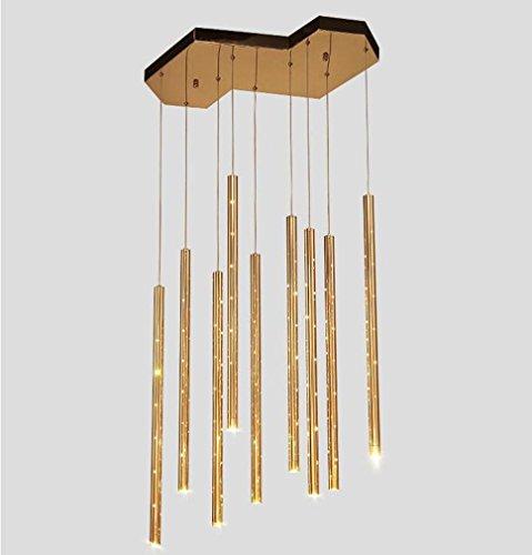 XIAOJIA Iluminación Decorativa de Moderno Hardware Creativo Personalidad Campanas lámpara Corredor Dormitorio...