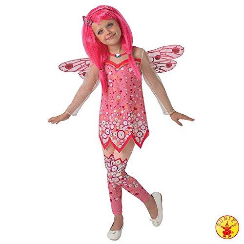 Leggings Kostüm Mit Fee - Kostüm Mia and Me rosa Mädchenkleid Leggings Fernsehstar Fee Elfe Kinder-Fasching (Large)
