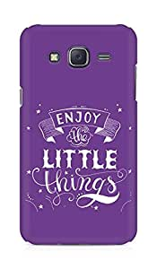 AMEZ enjoy the little things 2 Back Cover For Samsung Galaxy J5