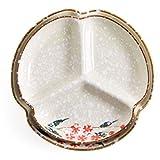 Noodle Bowls Platten-Haushaltsgeschirrfrühstücks-Teller-Nachtisch-Obstplatte der Platte keramische keramische (Color : Brown, Size : 18.5 * 18 * 3cm)