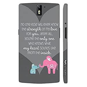 One plus One Mom,you know me best designer mobile hard shell case by Enthopia