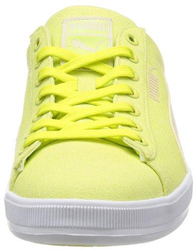 Puma Archive Lite Lo WashedCanvas RT, Sneaker Unisex-Adulto Giallo (Jaune - Yellow - Gelb (sunny lime-white swan-white 07))