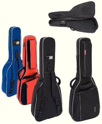 GEWA Premium 20de guitarra eléctrica (Negro)/Resistente y agua