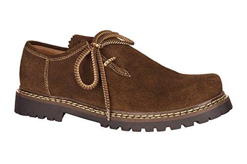 MADDOX Trachten Herren Schuh - JULIAN - braun, Größe 40